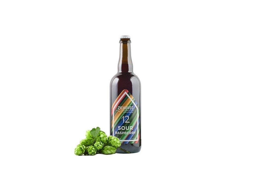 Zichovec Raspberry Sour 12° – 0,75l